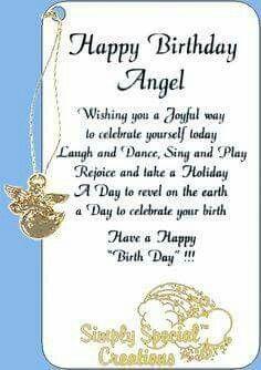 Happy birthday angel   Kutipan