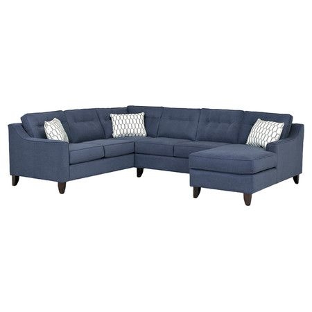 Norah 120 Sectional Sofa Sectional Sofa Tufted Sectional Sofa Furniture