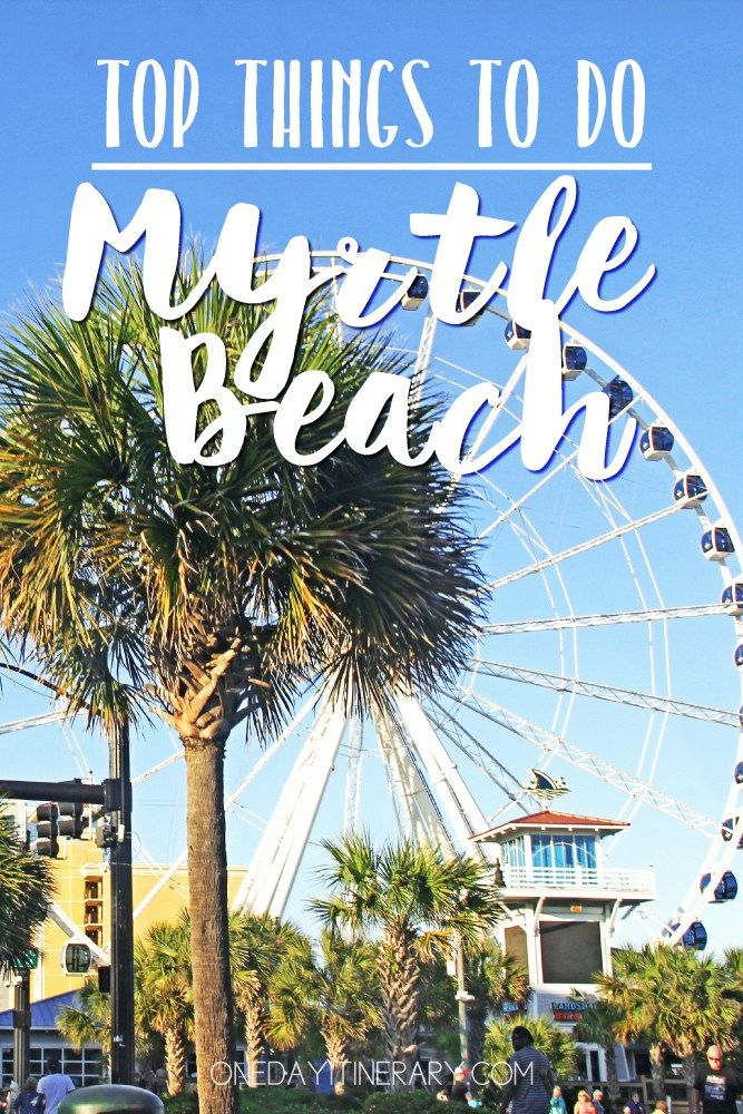 One Day In Myrtle Beach Guide What To Do In Myrtle Beach Us