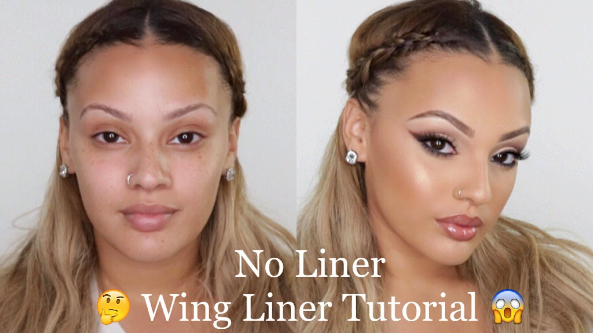 Smoked liner without any eyeliner tutorial vivaglamkay make smoked liner without any eyeliner tutorial vivaglamkay blending spongeeyeliner baditri Choice Image