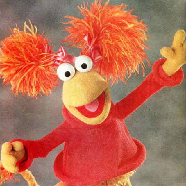 Fraggle Rock It S Red The Muppet Show Jim Henson Muppets