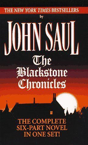 """""""Blackstone Chronicles"""" av John Saul"""