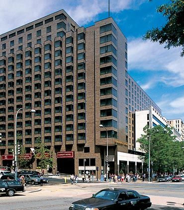 J W Marriott Washington Dc This Hotel Is Only Two Blocks From The White House