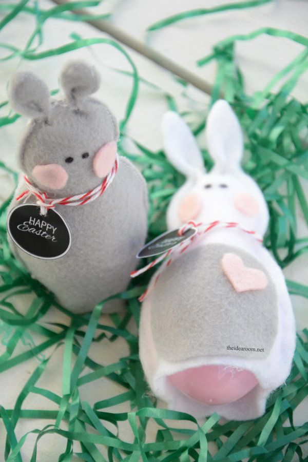 Felt easter bunny easter bunny easter and bunny easy diy easter bunny gift ideas negle Gallery