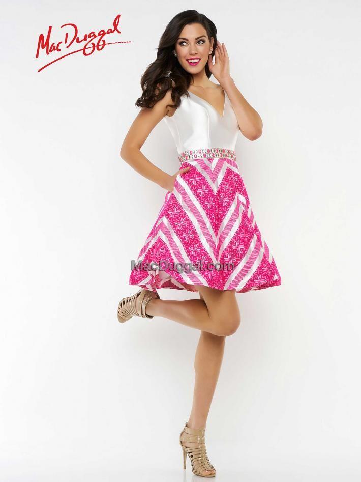 65772n Mac Duggal This Is A Classic Homecoming Dress