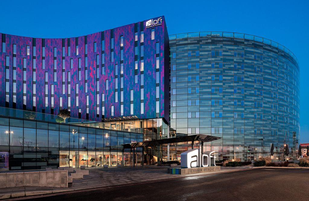 Aloft London Excel Hotel Hotel Architecture Portfolio London