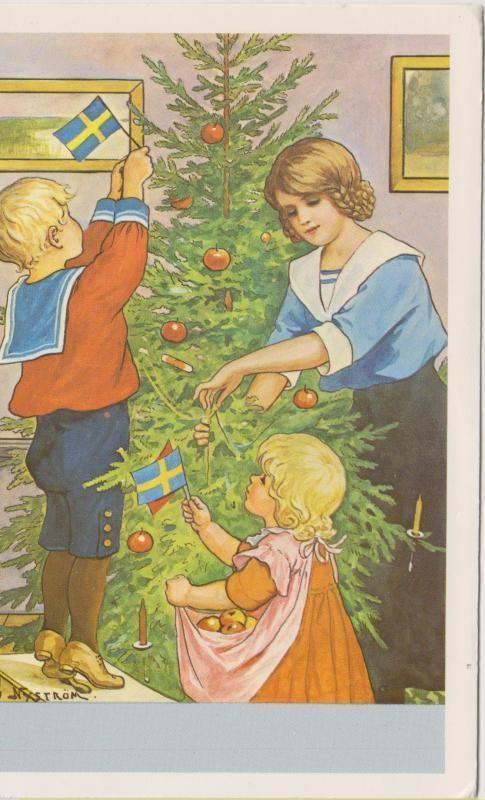 Jenny Nyström Kuusen koristelu p17,7 - Huuto.net