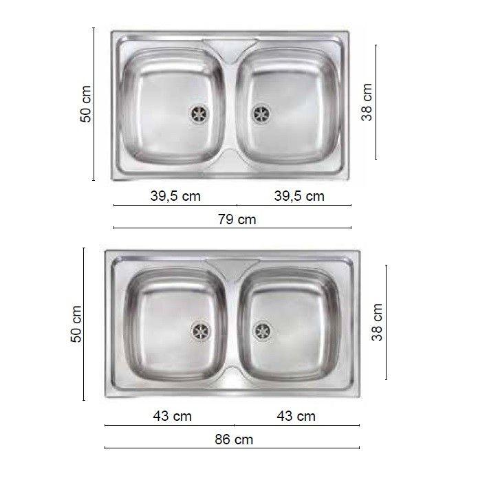 Lavello 2 vasche naked | Cucine Moderne | Pinterest | Prezzo and Italia