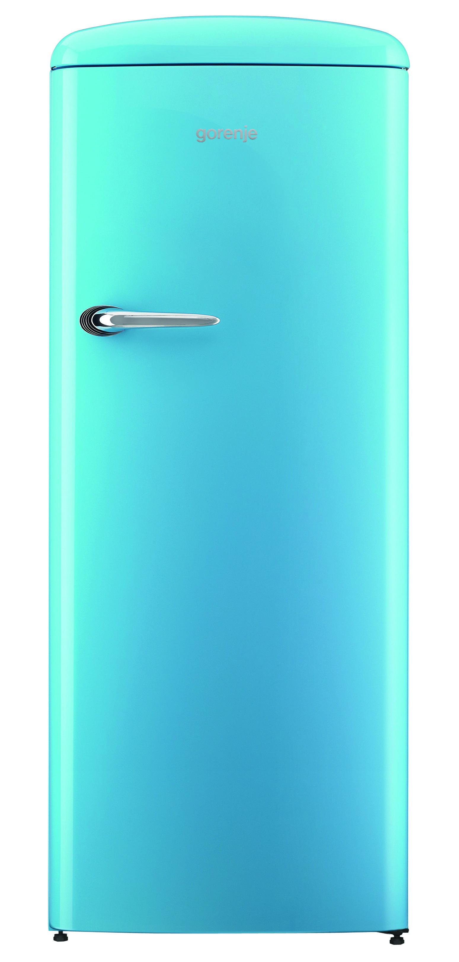 Gorenje Retro ORB153BL Refrigerator - Baby Blue - cut out | Retro ...