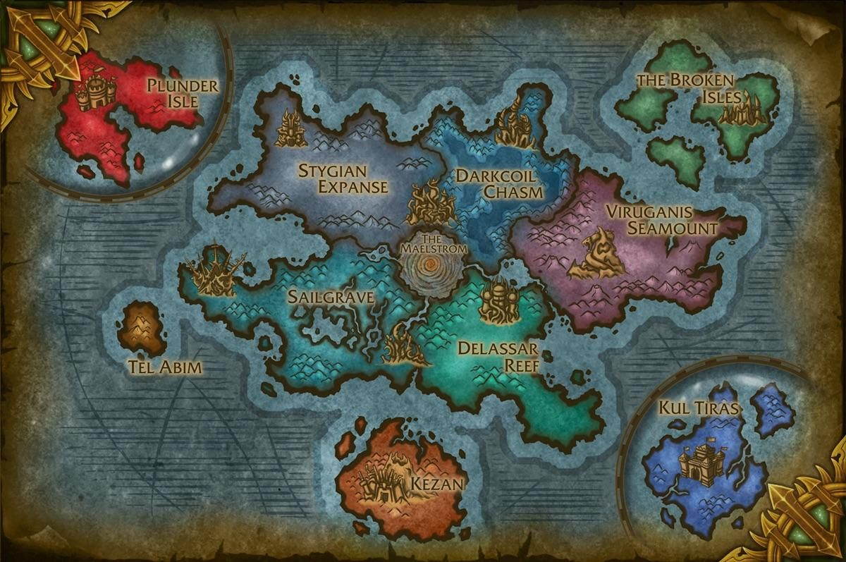 Warcraft New Map New map for the next expansion or really good fake