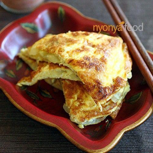Telur Dadar Thai Thai Omelette Resipi Citarasawan Telur Dadar Telur Dadar Telur