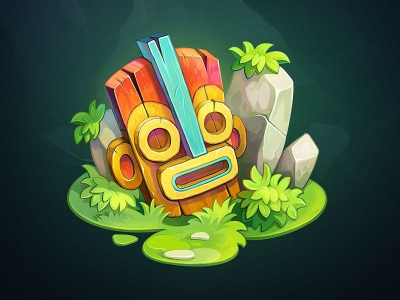 Tiki Mask by NestStrix