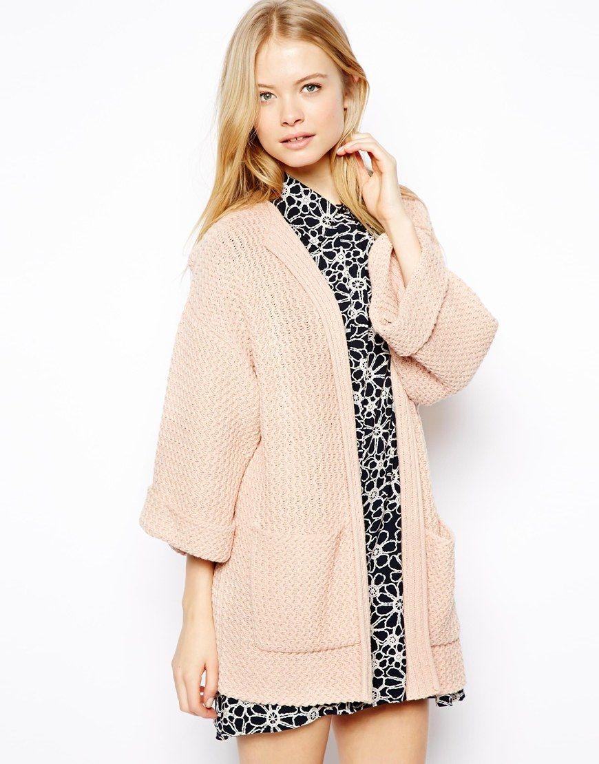 $67, Beige Kimono: Asos Kimono Sleeve Cardigan. Sold by Asos ...