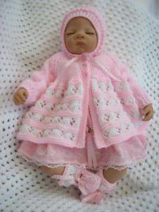"20 22"" Reborn Dolls Baby Clothes Knitting Pattern 27"