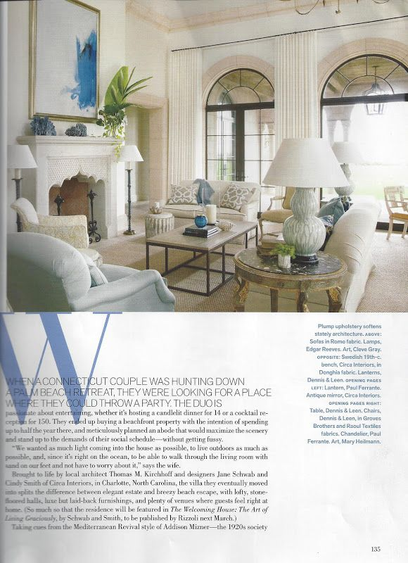 Jane Schwab Cindy Smith Custom Window Treatments White Rooms