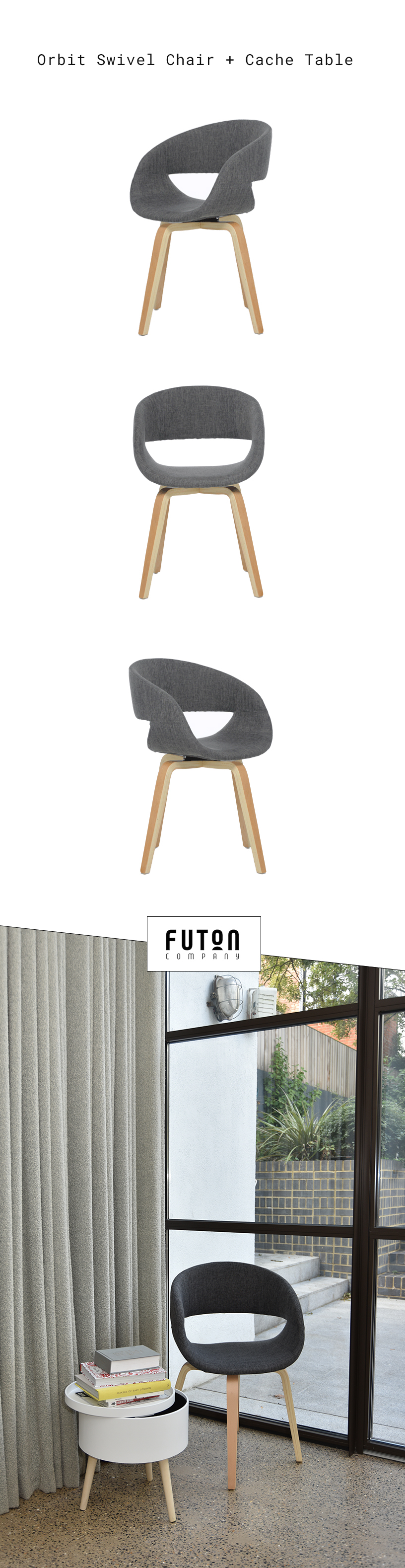 Pin by Futon Company on Chairs Furniture for small