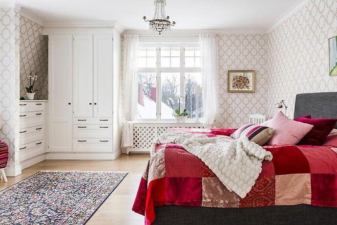 Bilder, Sovrum, Beige, Säng, Tapet, Romantiskt Hemnet Inspiration Hemnet Inspo Pinterest