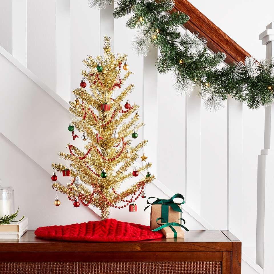 Christmas Christmas Ornament Sets Christmas Tree Topper Red Silver Christmas Tree