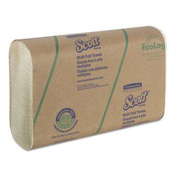 Multi-Fold Paper Towels, 9 2/5 X 9 1/5, Soft Wheat, 250 Sheets, 16/carton