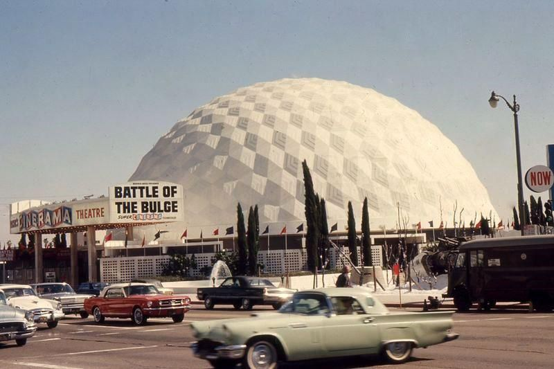 Cinerama Dome Theatre Circa 1966 The Film Title Plays Nicely With The Image Nostalgic Pictures Vintage Los Angeles Hollywood California