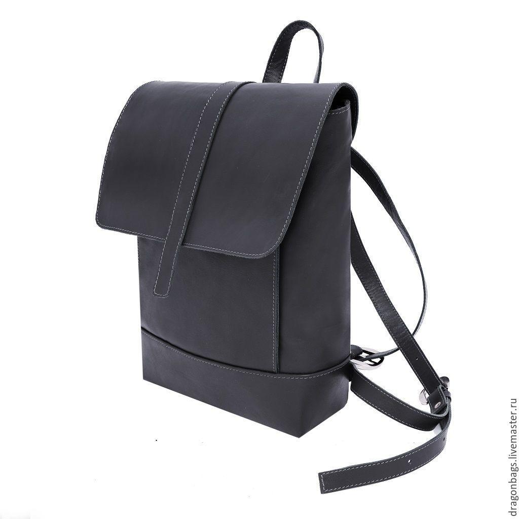 6f744f4faf27 Деловой рюкзак из натуральной кожи,ручная работа. | Женские рюкзаки ...
