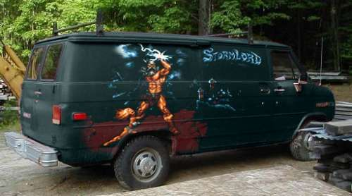 Image Result For Heavy Metal Van Chevy Van Custom Vans Vans
