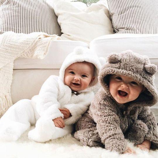 Winter baby photos