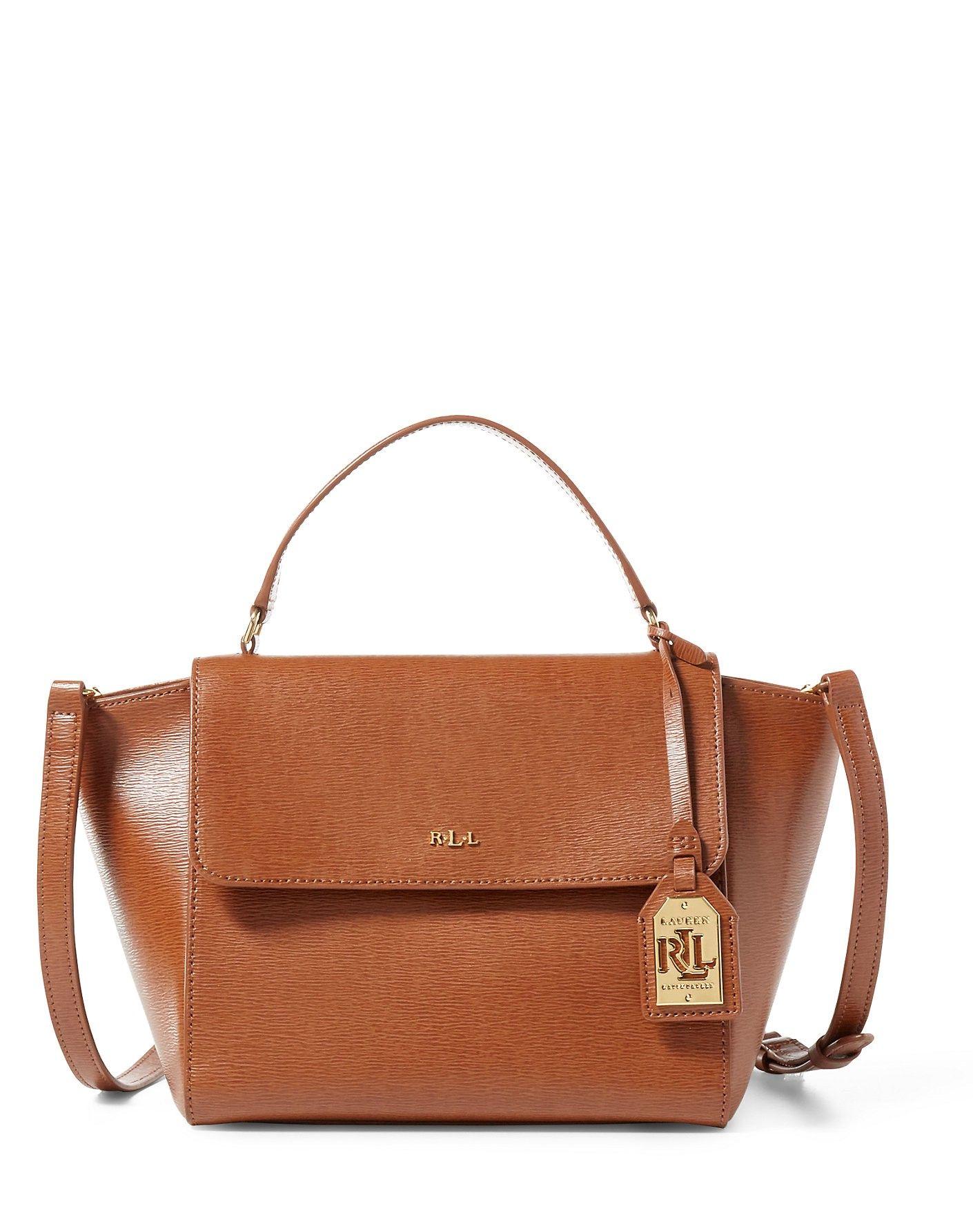 691b65040 RALPH LAUREN Leather Barclay Crossbody Bag. #ralphlauren #bags #shoulder  bags #hand bags #polyester #leather #crossbody #