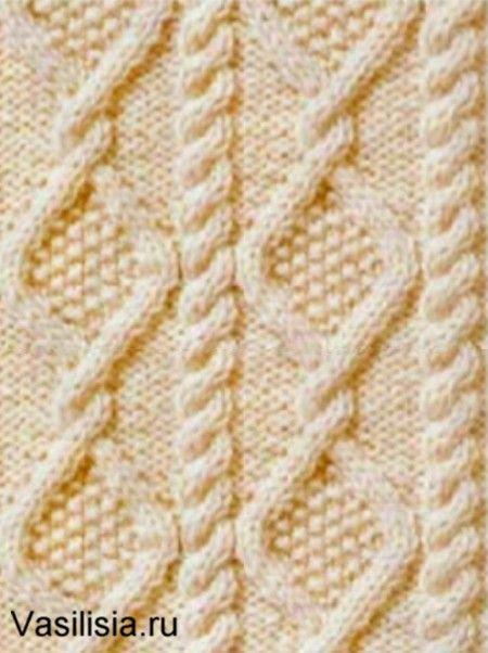 вязание ромбов спицами схемы с описанием коллекция схем вязаных