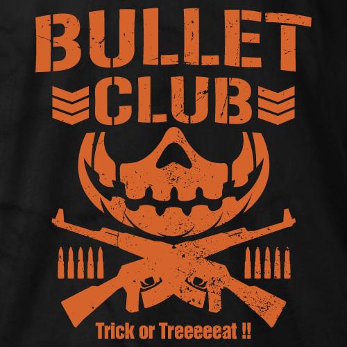 Bullet Club Trick Or Treat Bullet Club Logo Halloween Logo Japan Pro Wrestling