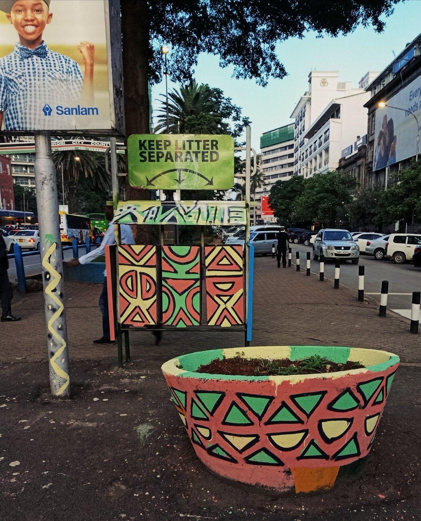 Nairobi streets Planters, Planter pots, Kenya