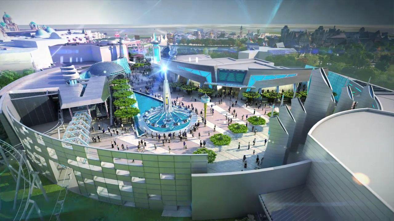 Google themes london - Paramount Theme Park London Google