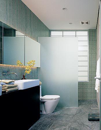 architect Patrizio Fradiani. translucent shower glass   bathrooms ...