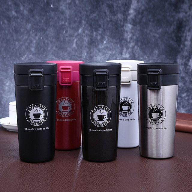 10e59acaf53 Thermos mug coffee mugs thermo cup Vacuum Flasks termo cafe termos ...