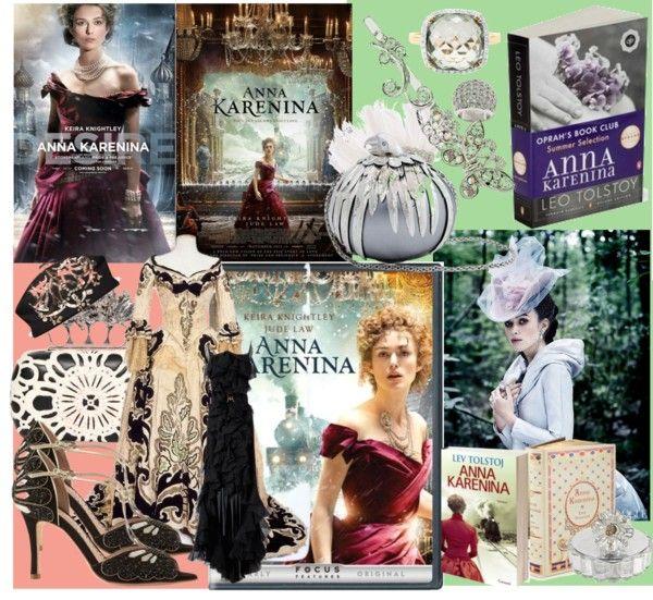 """Anna Karenina"" by fantasiegirl ❤ liked on Polyvore"