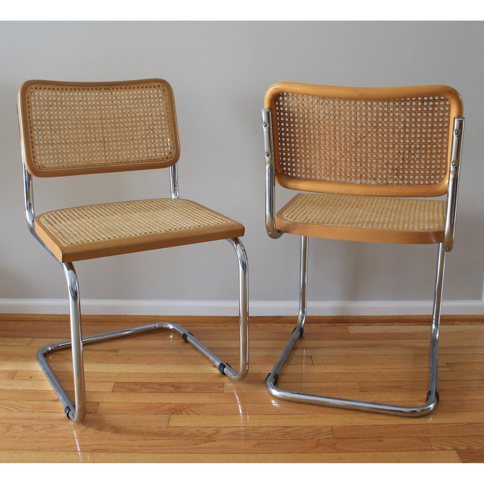 Prime 1970S Vintage Marcel Breuer Cesca Style Chairs A Pair Download Free Architecture Designs Rallybritishbridgeorg