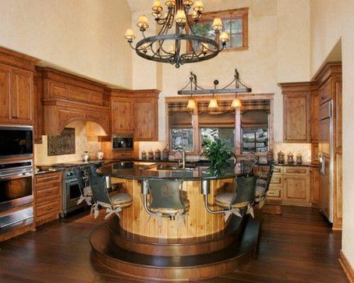 Nice Look Of Traditional Western Kitchen Decorating Ideas Traditional Kitchen Design Western Kitchen Luxury Kitchen Design