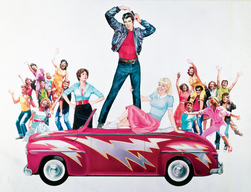 Grease Wallpaper By Phet Van Burton