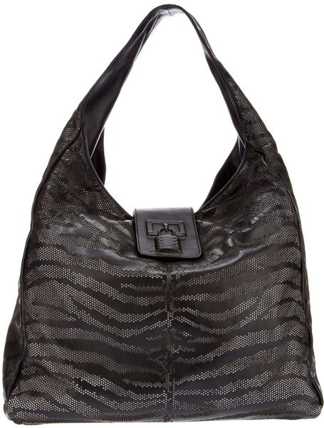 32dd751a415f Women s Black Tiger Striped Bag