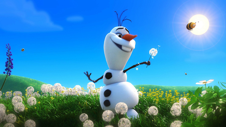 Summer Wallpaper Olaf