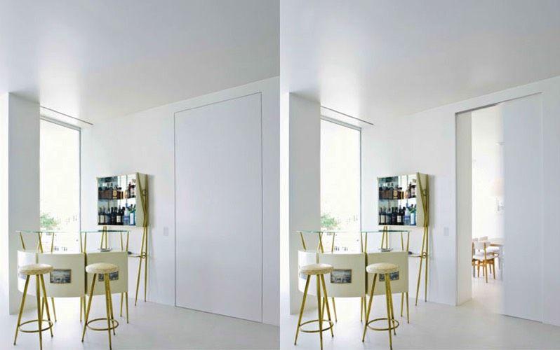 Wandbundige Schiebeture Weisse Einrichtungen Fenster Und Turen