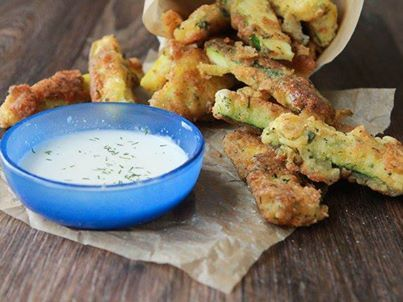 PARKER'S GENERAL: RANCH FRIED ZUCCHINI