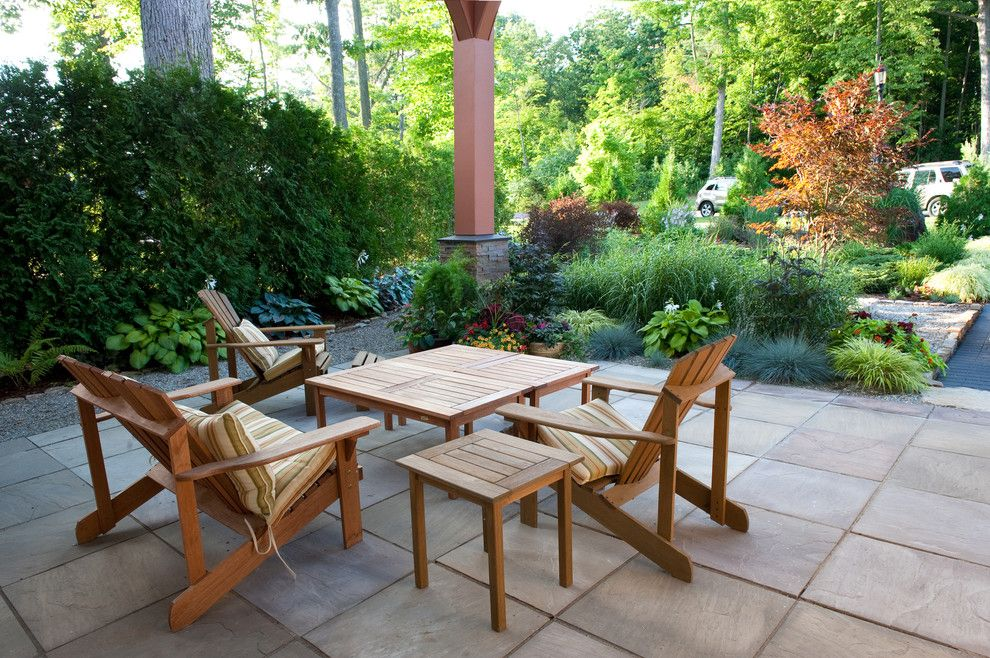 Houzz Patio Furniture Patio Contemporary With Mass Planting Outdoor Chairs Patio Teak Patio Furniture Teak Outdoor Furniture