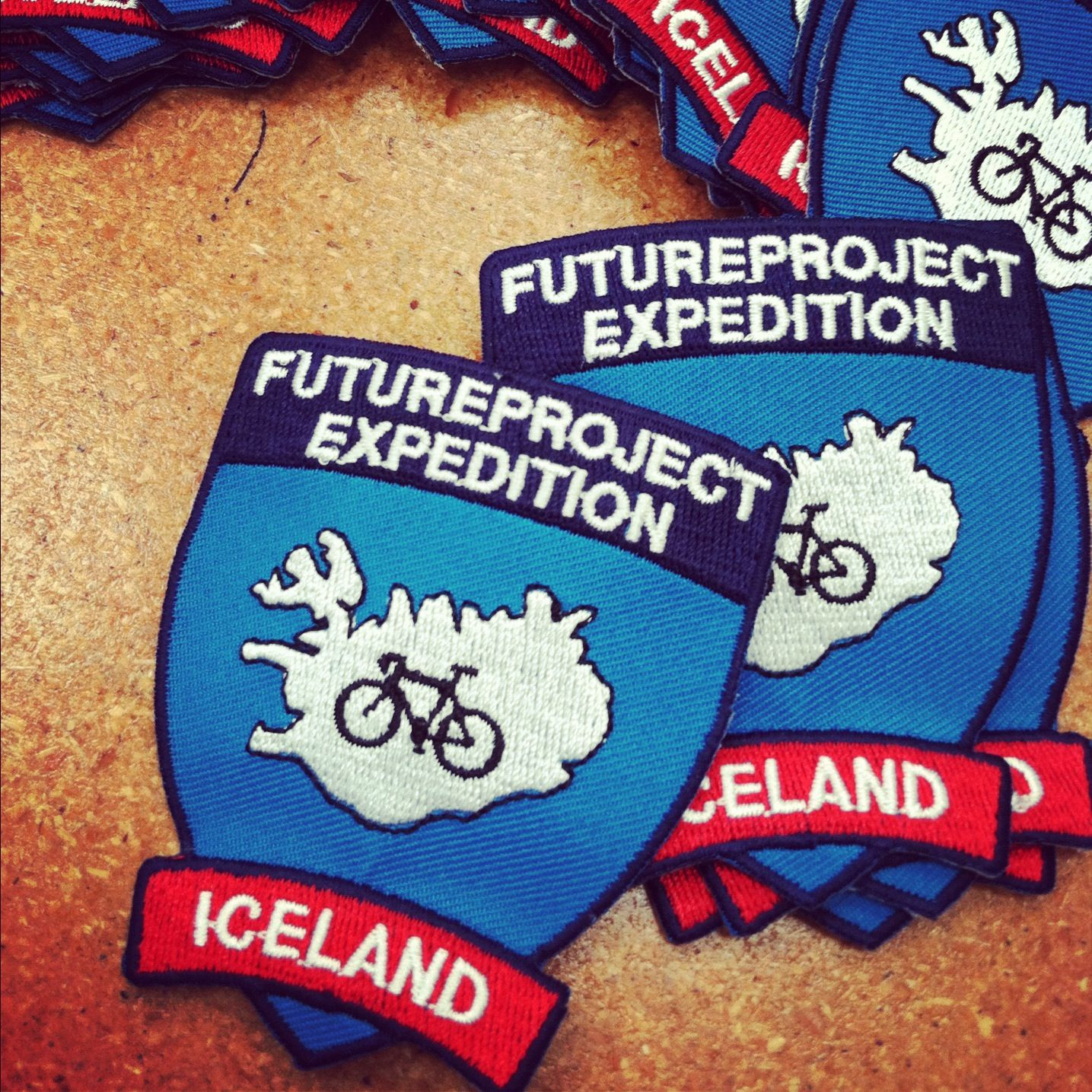 @fpExpedition patches for FPX:Iceland schwag!