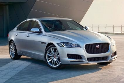 2016 Jaguar Xf 35t Prestige Sedan Exterior European Model Shown