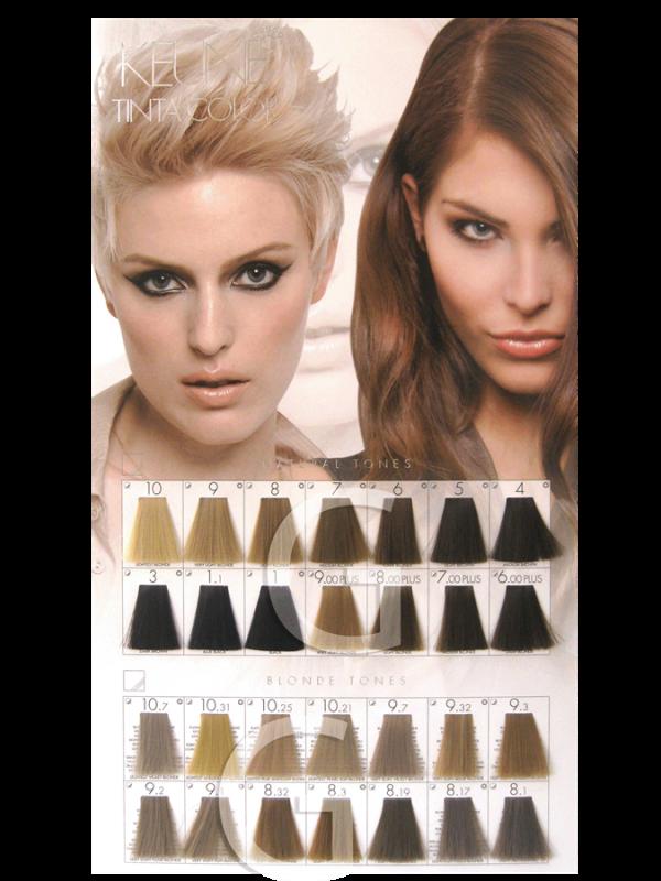 Keune Tinta Color Blonde Shades Hair Color Shades Hair Color Chart Hair Color Names