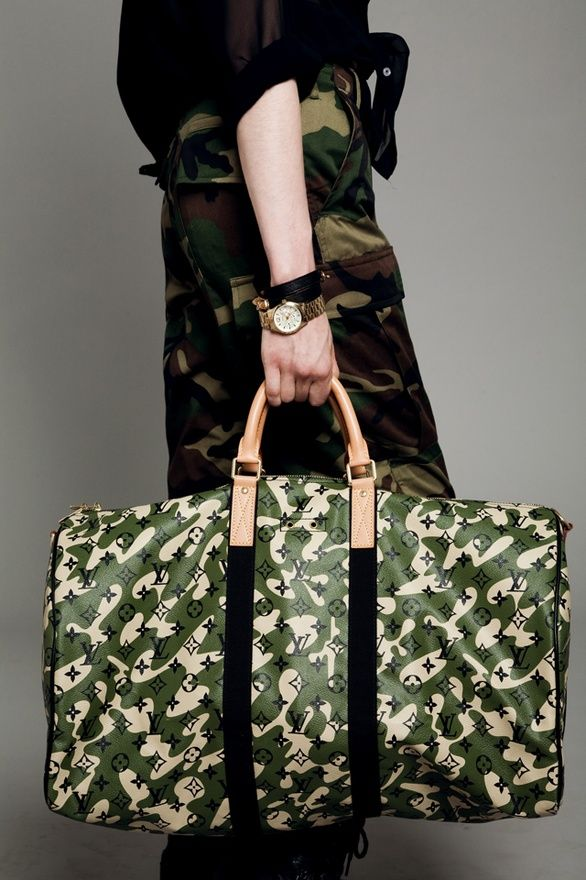 vuitton, camouflage