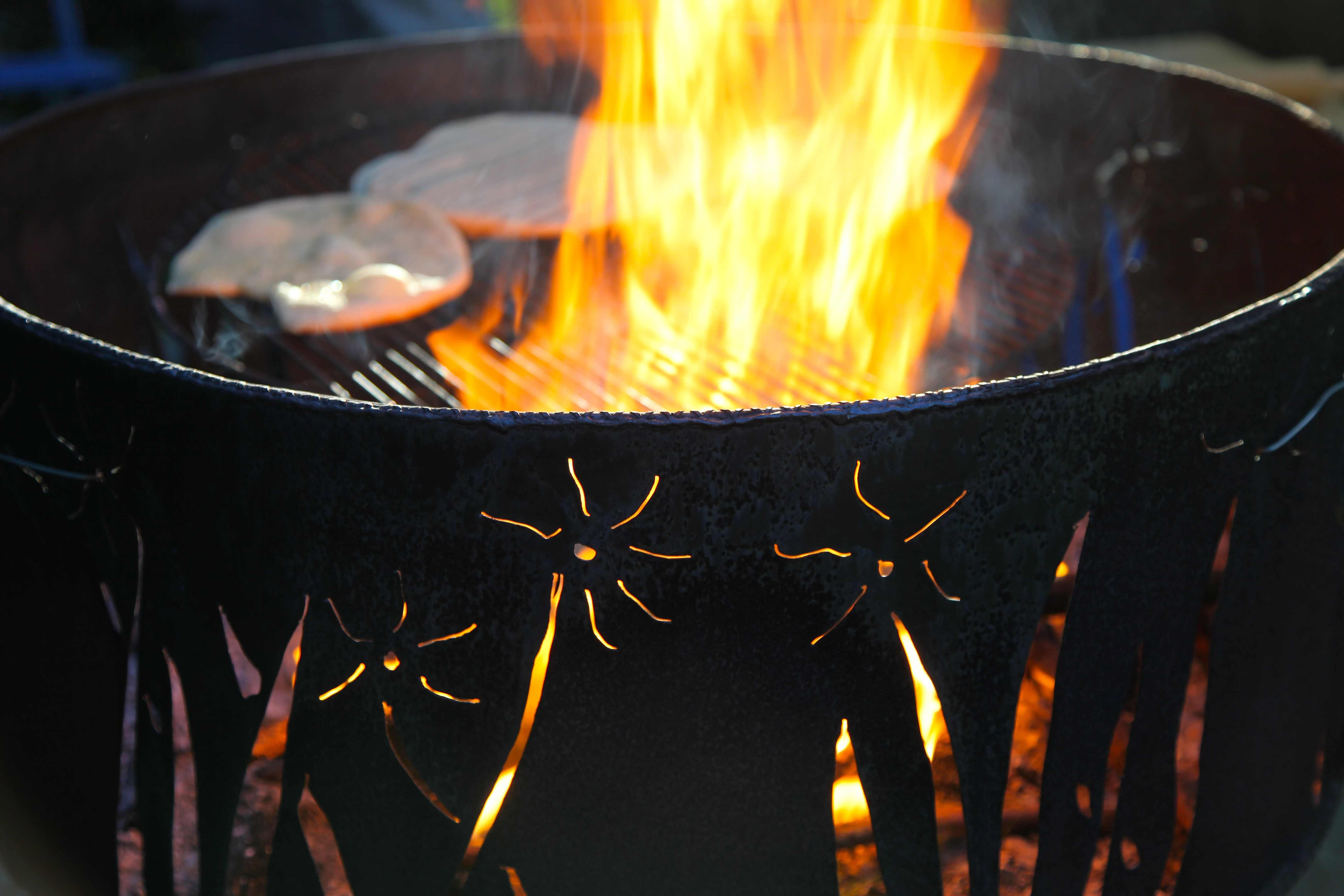 Washer Barrel Fire Pit