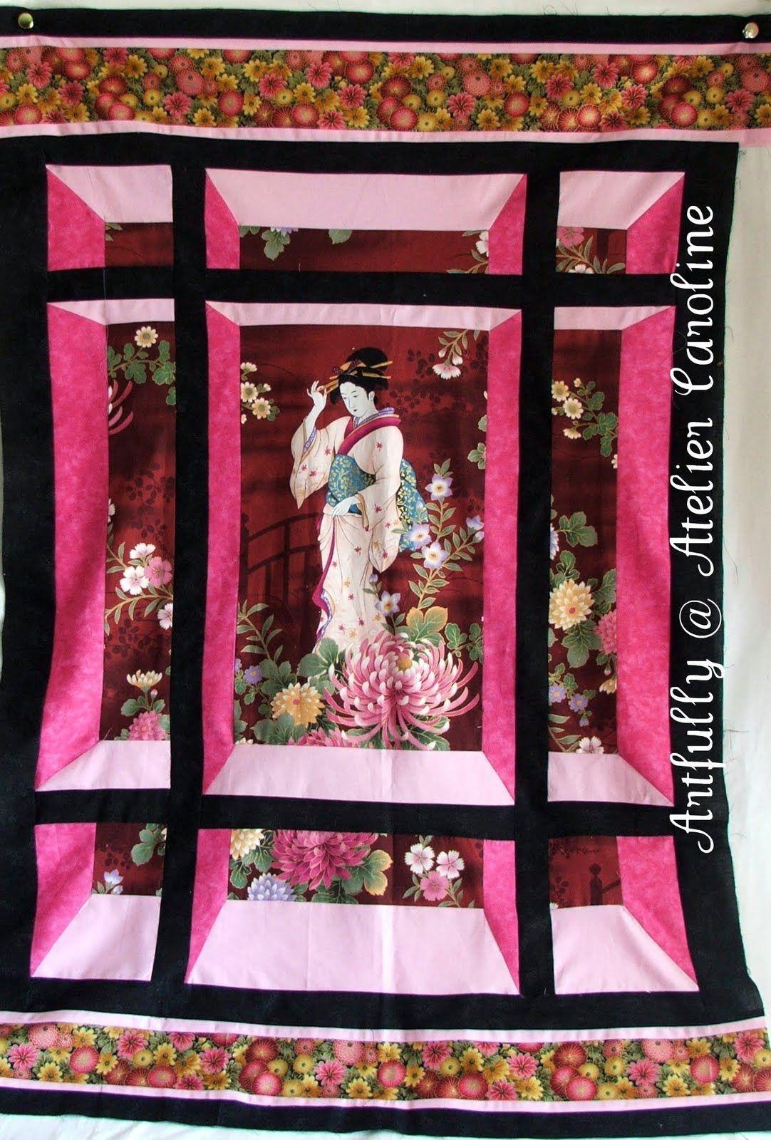 Lovely 3d Quilt by Artfully Caroline | Attic Window Quilts | Attic