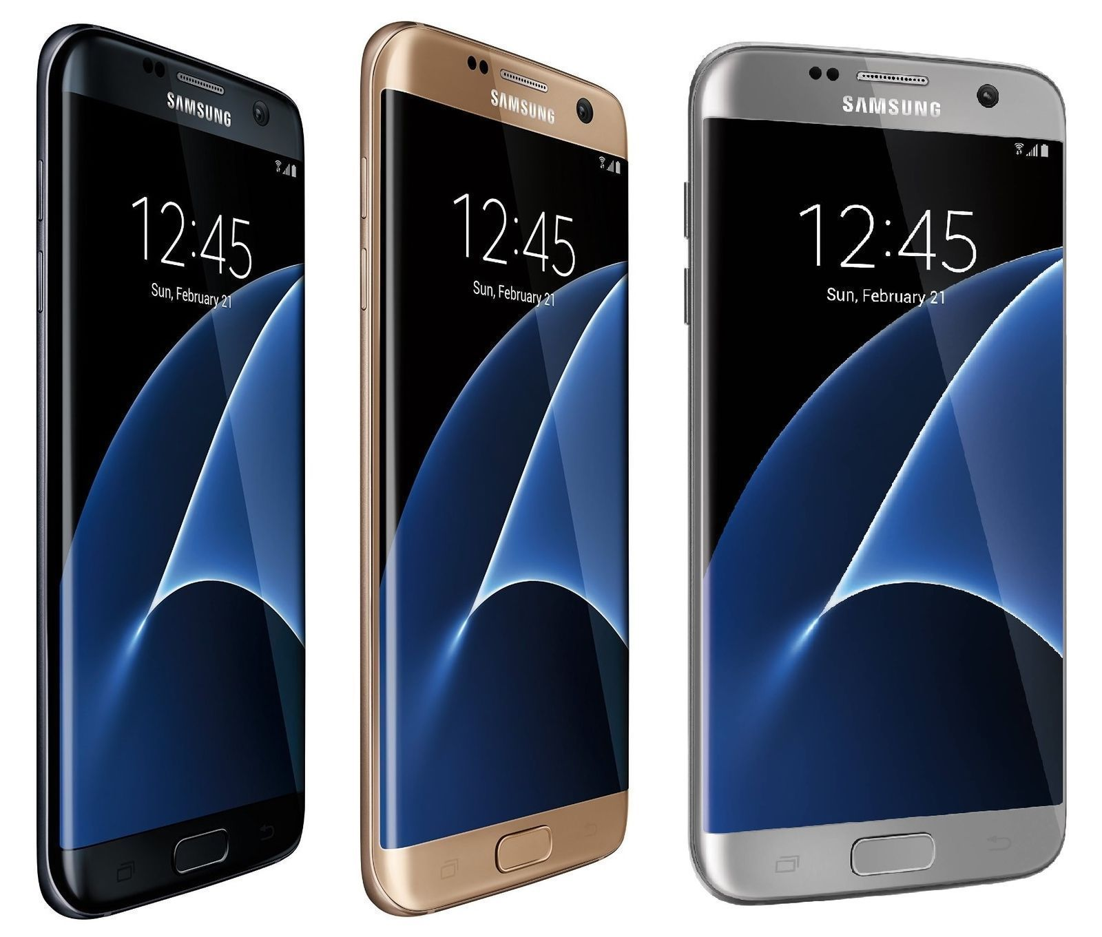 Samsung Galaxy S7 32gb At T T Mobile Gsm Unlocked Smartphone Black Gold Samsung Galaxy Samsung Samsung Galaxy S7 Edge